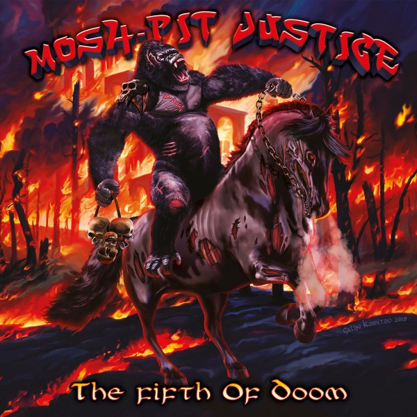 Mosh-Pit Justice - The Fifth of Doom (Pre-Order)
