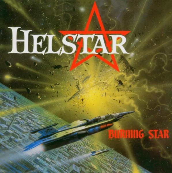 Helstar - Burning Star (black)