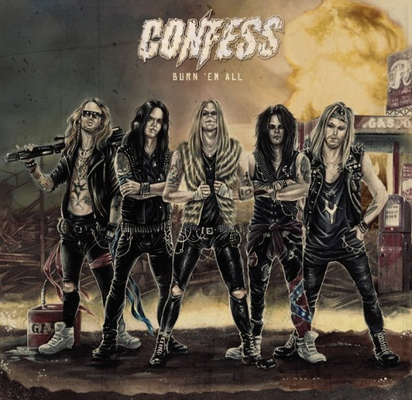 Confess - Burn `em all