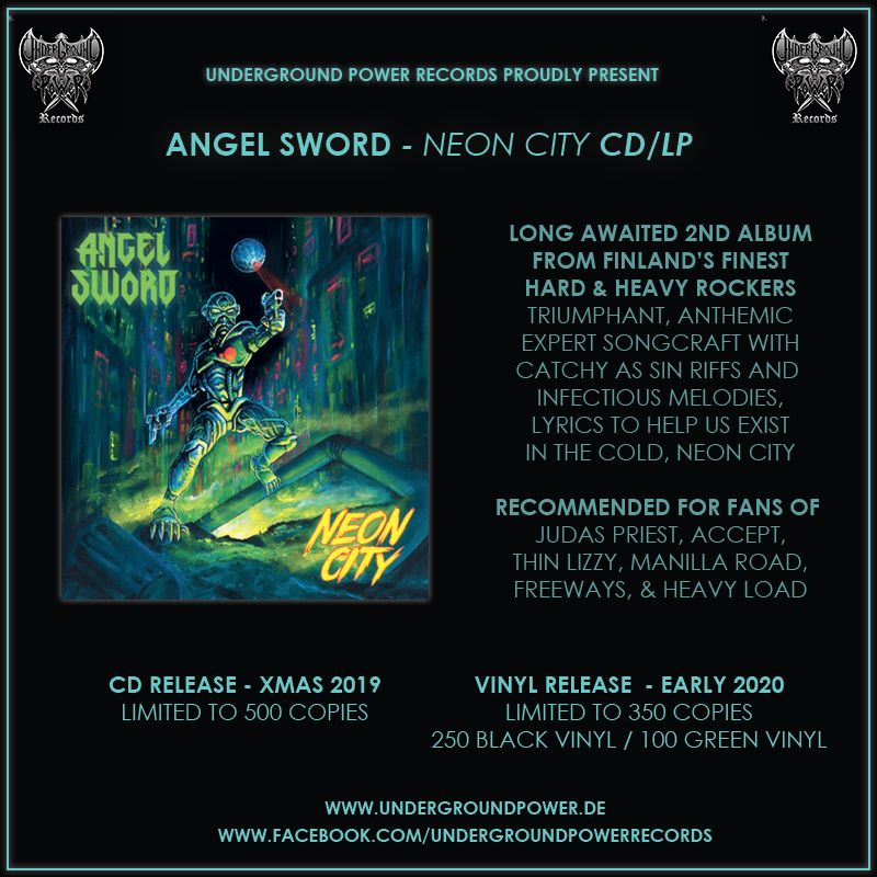 Angel Sword Cover Doc Gator Records