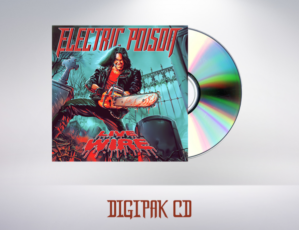 Electric Poison - Live Wire (CD)